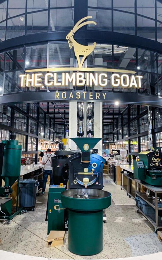 The Climbing Goat Roastery | Depachika Food Hall | Nakheel Mall